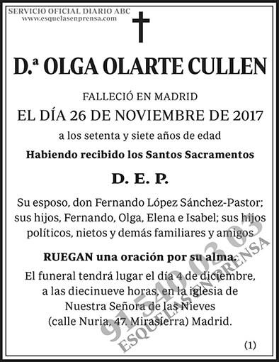 Olga Olarte Cullen